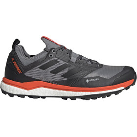 adidas TERREX Agravic XT GTX Shoes Herr grey five/core black/active orange